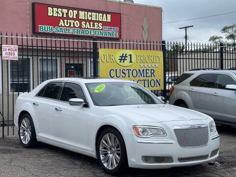 2013 Chrysler 300 for sale at Best of Michigan Auto Sales in Detroit MI