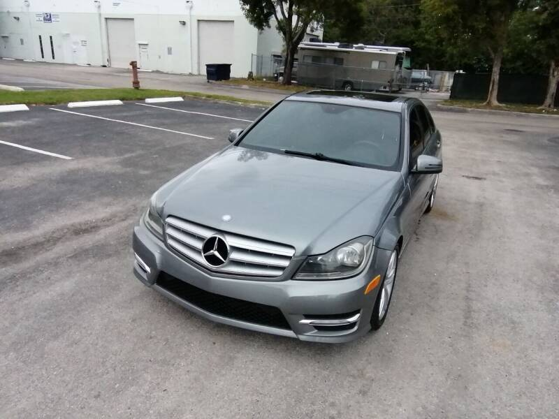 2013 Mercedes-Benz C-Class for sale at Best Price Car Dealer in Hallandale Beach FL