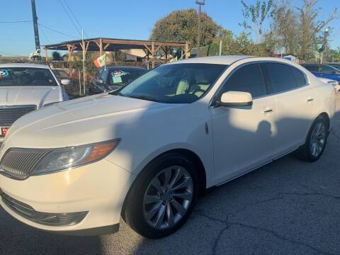 2013 Lincoln MKS for sale at FAIR DEAL AUTO SALES INC in Houston TX