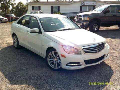 2012 Mercedes-Benz C-Class for sale at Let's Go Auto Of Columbia in West Columbia SC