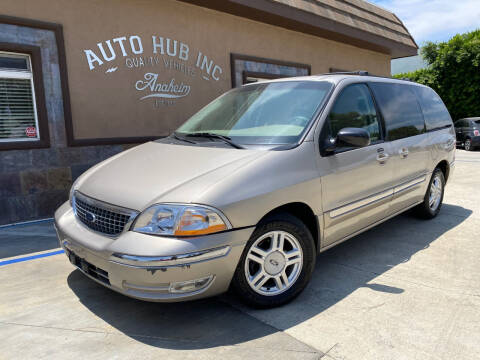2002 Ford Windstar for sale at Auto Hub, Inc. in Anaheim CA