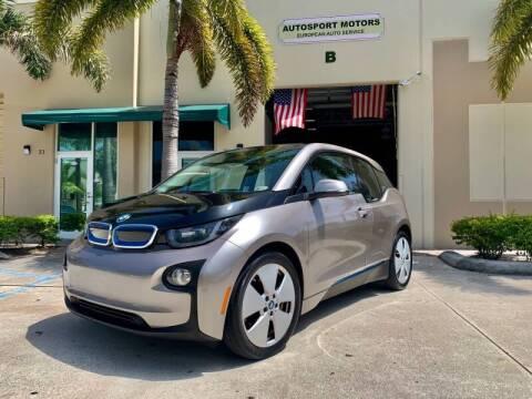 2014 BMW i3 for sale at AUTOSPORT MOTORS in Lake Park FL