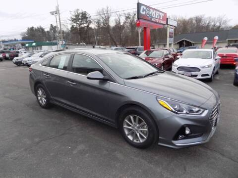 2019 Hyundai Sonata for sale at Comet Auto Sales in Manchester NH