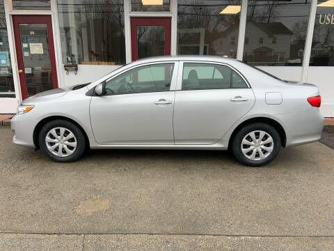 2009 Toyota Corolla for sale at O'Connell Motors in Framingham MA