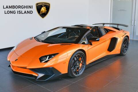 2017 Lamborghini Aventador for sale at Bespoke Motor Group in Jericho NY