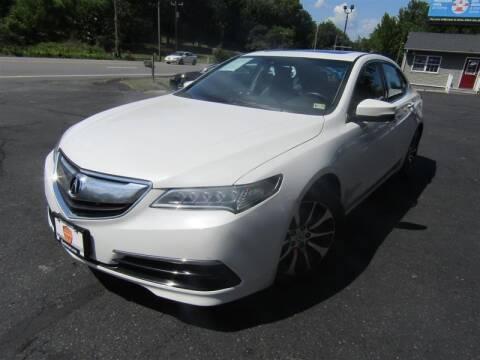 2015 Acura TLX for sale at Guarantee Automaxx in Stafford VA