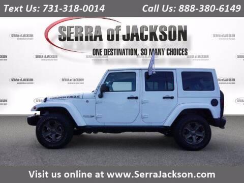 2018 Jeep Wrangler JK Unlimited for sale at Serra Of Jackson in Jackson TN
