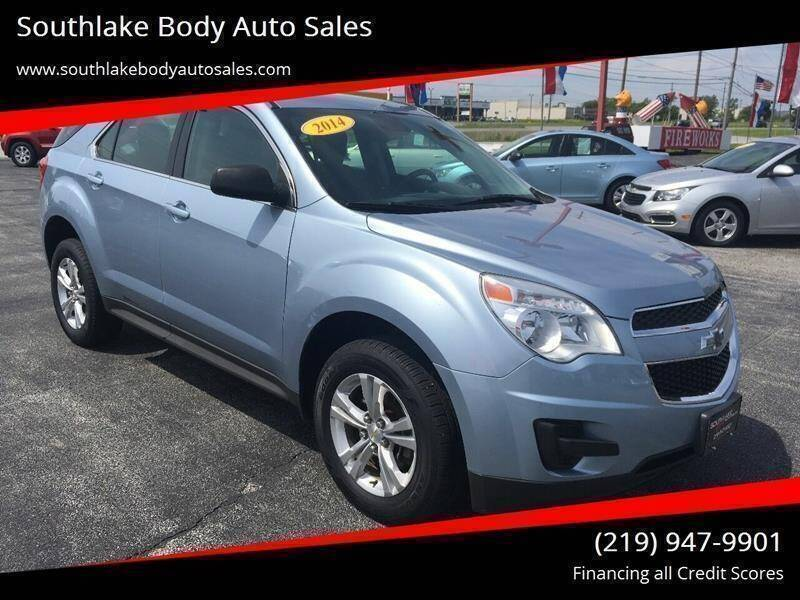 2014 Chevrolet Equinox LS - One Owner - All Wheel Drive - $213 /month - Merrillville IN