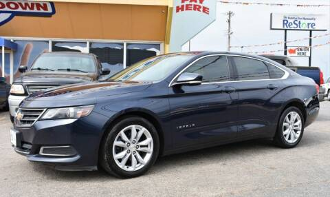 2016 Chevrolet Impala for sale at Buy Here Pay Here Lawton.com in Lawton OK