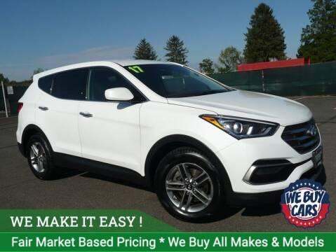 2017 Hyundai Santa Fe Sport for sale at Shamrock Motors in East Windsor CT