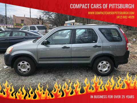 2006 Honda CR-V for sale at Compact Cars of Pittsburgh in Pittsburgh PA