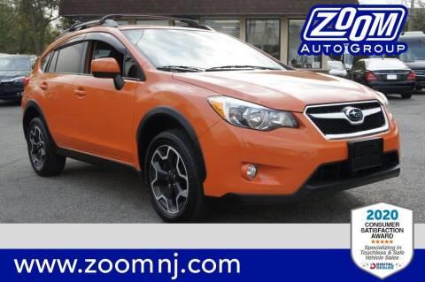 2013 Subaru XV Crosstrek for sale at Zoom Auto Group in Parsippany NJ