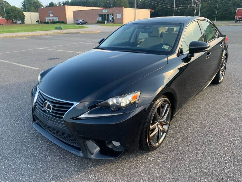 2014 Lexus IS 350 for sale at American Auto Mall in Fredericksburg VA