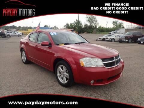 2009 Dodge Avenger for sale at Payday Motors in Wichita KS