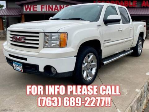 2012 GMC Sierra 1500 for sale at Affordable Auto Sales in Cambridge MN