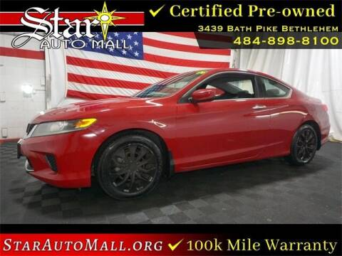 2013 Honda Accord for sale at STAR AUTO MALL 512 in Bethlehem PA