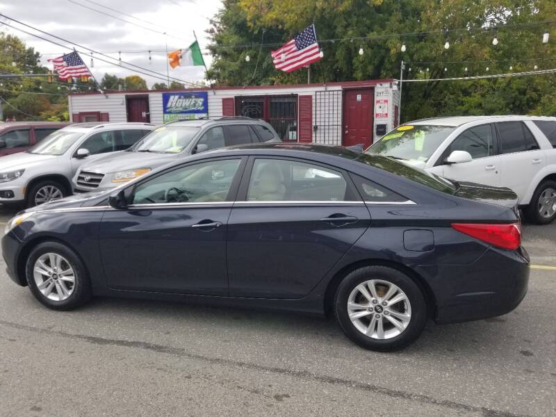 2013 Hyundai Sonata for sale at Howe's Auto Sales in Lowell MA