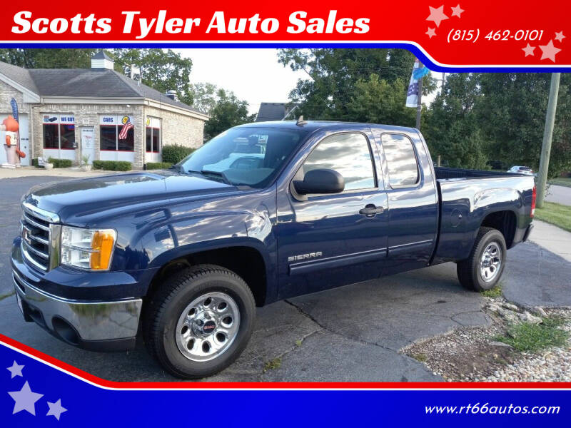 2012 GMC Sierra 1500 for sale at Scotts Tyler Auto Sales in Wilmington IL