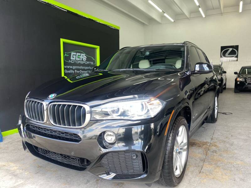 2017 BMW X5 for sale at GCR MOTORSPORTS in Hollywood FL