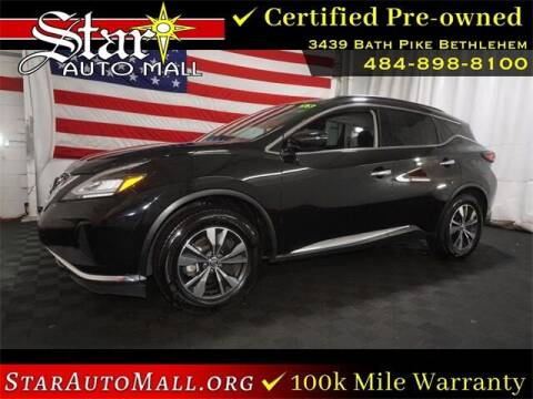 2020 Nissan Murano for sale at STAR AUTO MALL 512 in Bethlehem PA