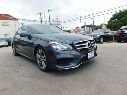 2014 Mercedes-Benz E-Class for sale at AMD AUTO in San Antonio TX