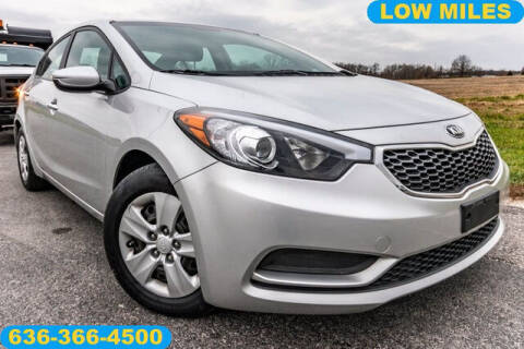 2015 Kia Forte for sale at Fruendly Auto Source in Moscow Mills MO