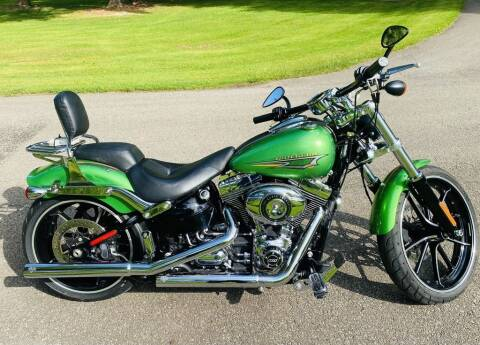 2015 Harley-Davidson® FXSB - Softail® Breakout& for sale at Street Track n Trail in Conneaut Lake PA