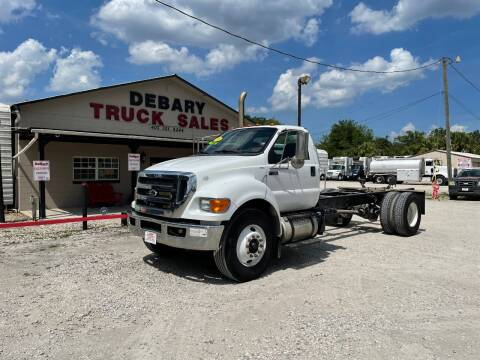 2015 Ford F-750XL for sale at DEBARY TRUCK SALES in Sanford FL