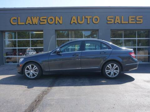 2009 Mercedes-Benz C-Class for sale at Clawson Auto Sales in Clawson MI