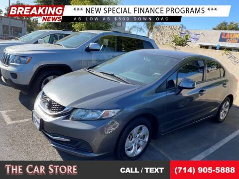 2013 Honda Civic for sale at The Car Store in Santa Ana CA