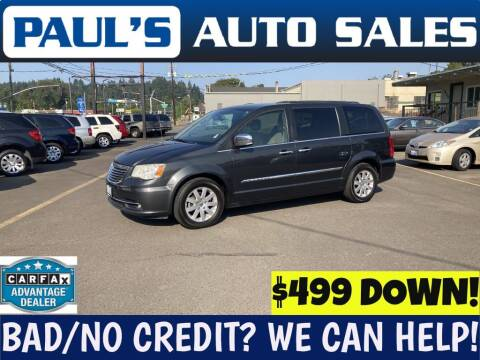 2011 Chrysler Town and Country for sale at Paul's Auto Sales in Eugene OR