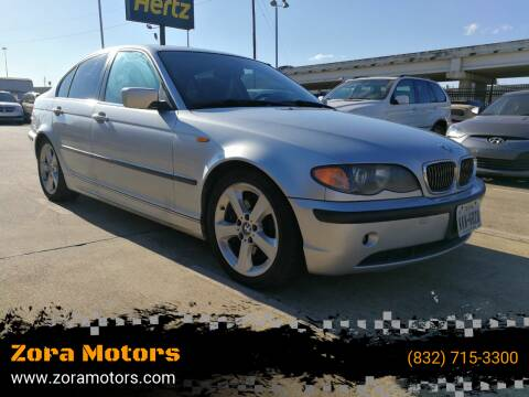 2005 BMW 3 Series for sale at Zora Motors in Houston TX