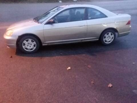 2002 Honda Civic for sale at NJ Quality Auto Sales LLC in Richmond IL