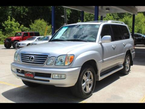 2006 Lexus LX 470 for sale at Inline Auto Sales in Fuquay Varina NC
