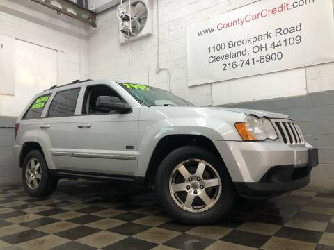 2009 Jeep Grand Cherokee for sale at County Car Credit in Cleveland OH