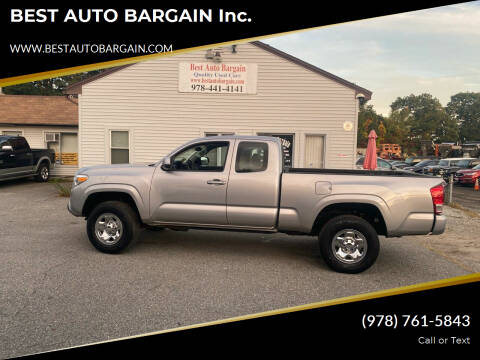 2017 Toyota Tacoma for sale at BEST AUTO BARGAIN inc. in Lowell MA