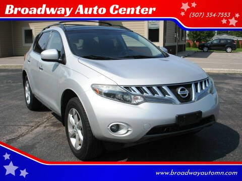 2009 Nissan Murano for sale at Broadway Auto Center in New Ulm MN