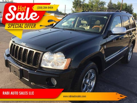 2006 Jeep Grand Cherokee for sale at RABI AUTO SALES LLC in Garden City ID