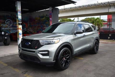 2020 Ford Explorer for sale at ELITE MOTOR CARS OF MIAMI in Miami FL