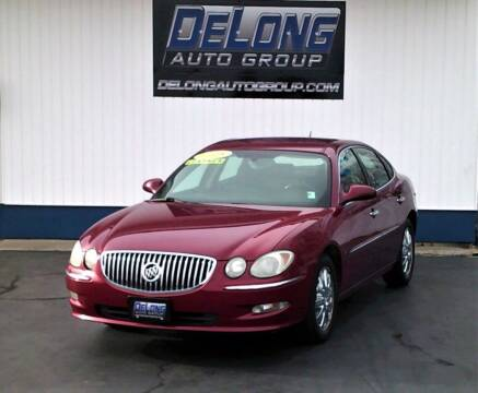 2008 Buick LaCrosse for sale at DeLong Auto Group in Tipton IN