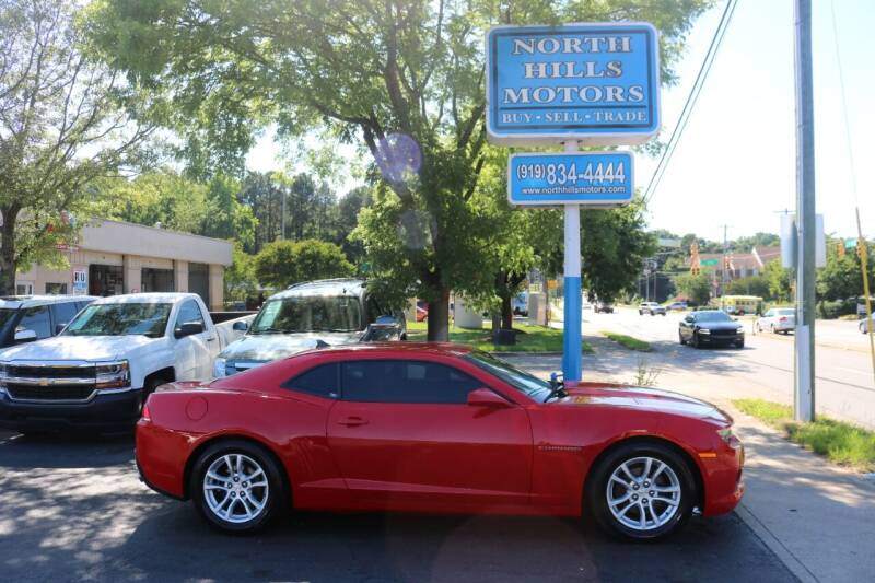 2015 Chevrolet Camaro for sale at North Hills Motors in Raleigh NC