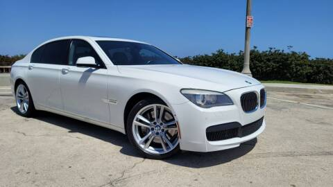 2012 BMW 7 Series for sale at L.A. Vice Motors in San Pedro CA