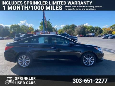 2011 Hyundai Sonata for sale at Sprinkler Used Cars in Longmont CO