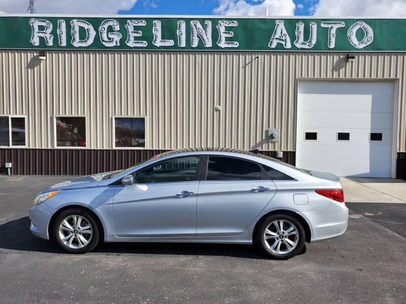 2012 Hyundai Sonata for sale at RIDGELINE AUTO in Chubbuck ID
