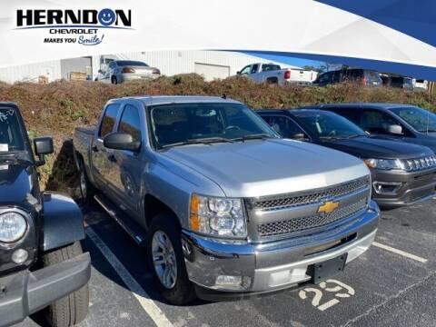 2013 Chevrolet Silverado 1500 for sale at Herndon Chevrolet in Lexington SC