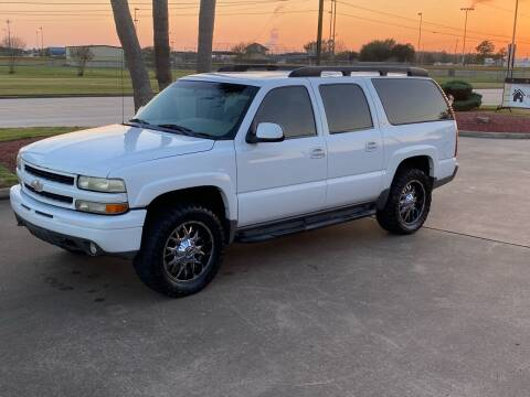2003 Chevrolet Suburban for sale at M A Affordable Motors in Baytown TX
