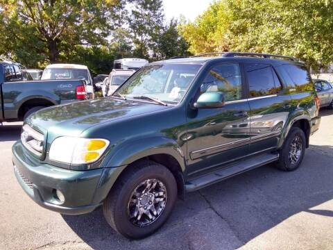 2003 Toyota Sequoia for sale at Wilson Investments LLC in Ewing NJ