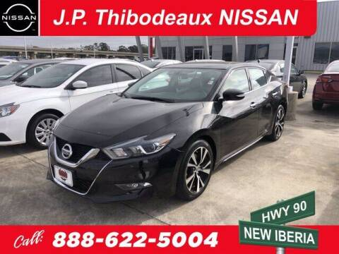 2018 Nissan Maxima for sale at J P Thibodeaux Used Cars in New Iberia LA