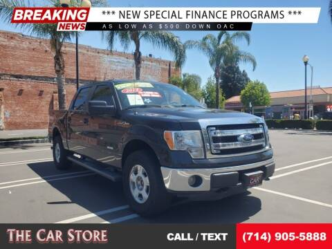 2014 Ford F-150 for sale at The Car Store in Santa Ana CA