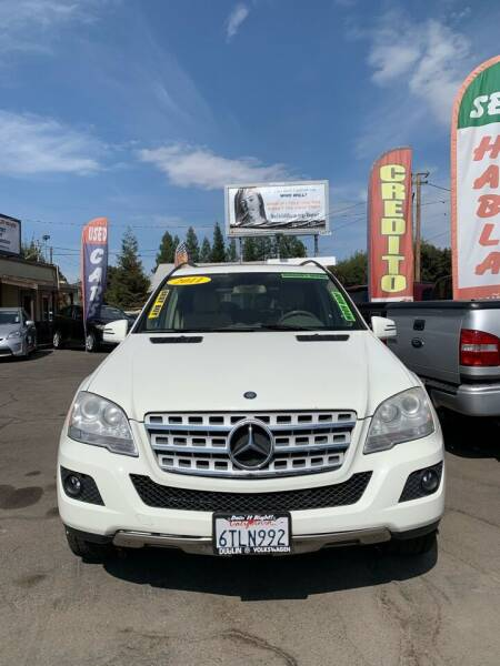 2011 Mercedes-Benz M-Class for sale at Victory Auto Sales in Stockton CA